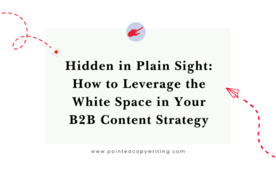How to Pinpoint and Leverage the White Space in Your B2B Content Strategy
